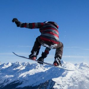 Snowboarding Borobstacle